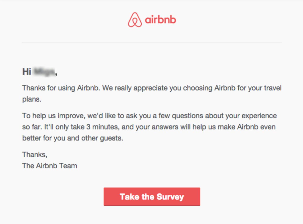 Airbnb Survey
