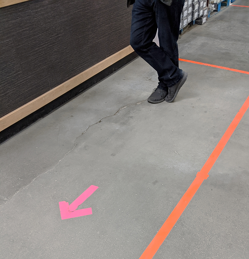 Floor Marking Tapes COVID 19