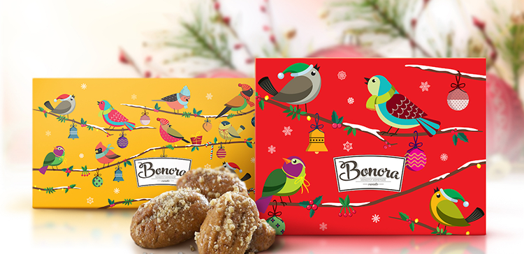 Benora Holiday Packaging 2015