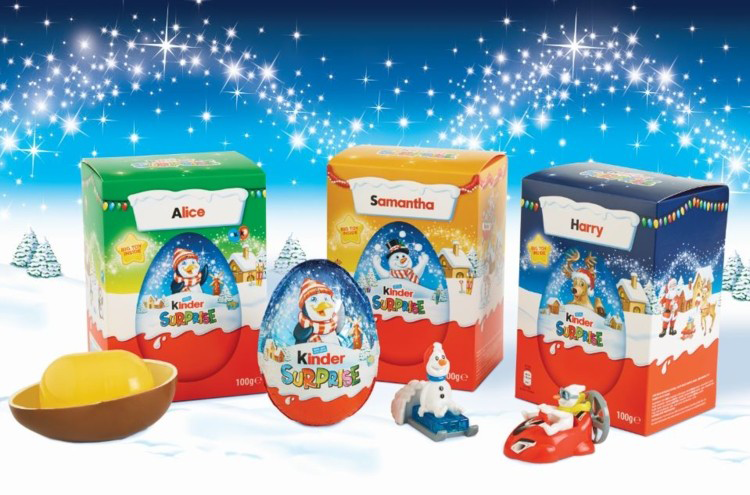 Ferrero-Kinder-Christmas-Personalized-packaging