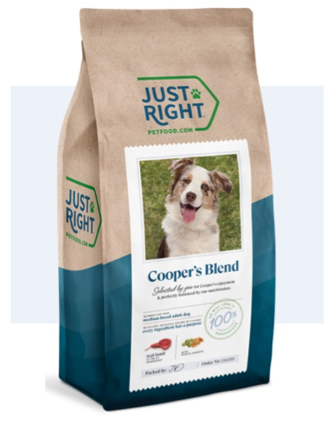 Just Right Dog Food