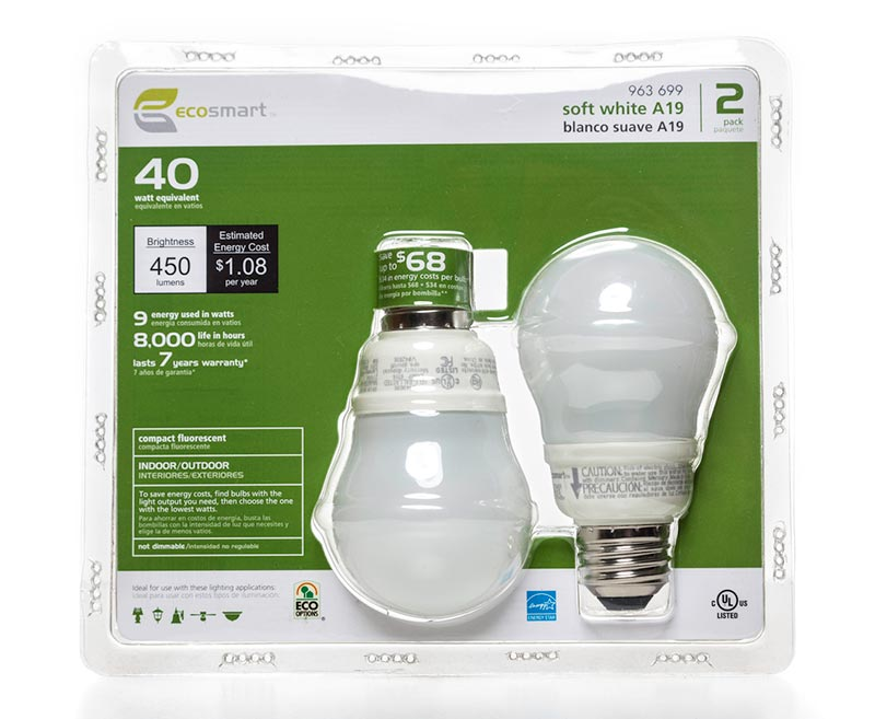 Lightbulb-Packaging
