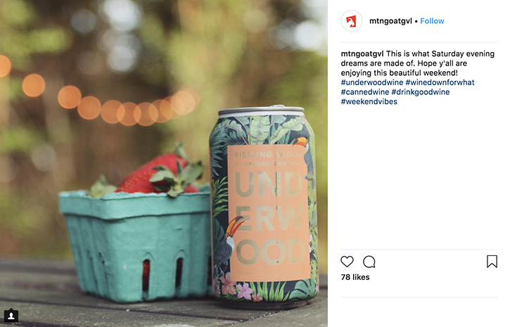 Underwood Radler Instagram