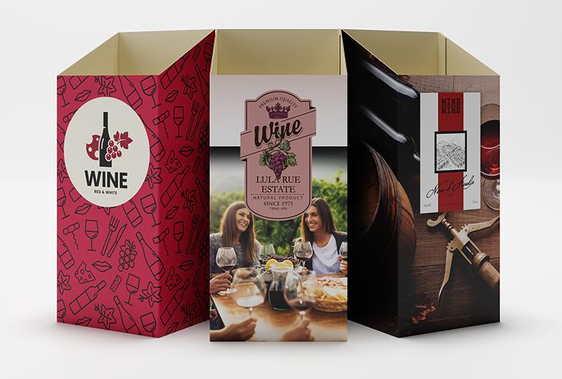 Wine Case Sleeves Landing Page Hero