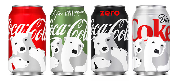 Coca Cola Holiday Cans