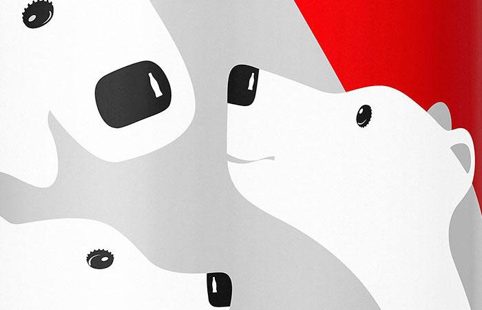 Coke Holiday Can Closeup