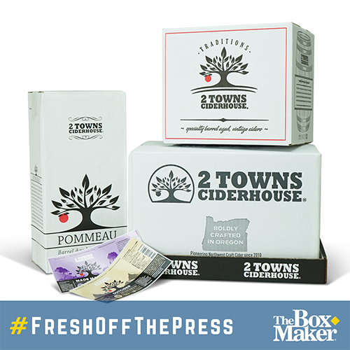 2 Towns Ciderhouse Packaging