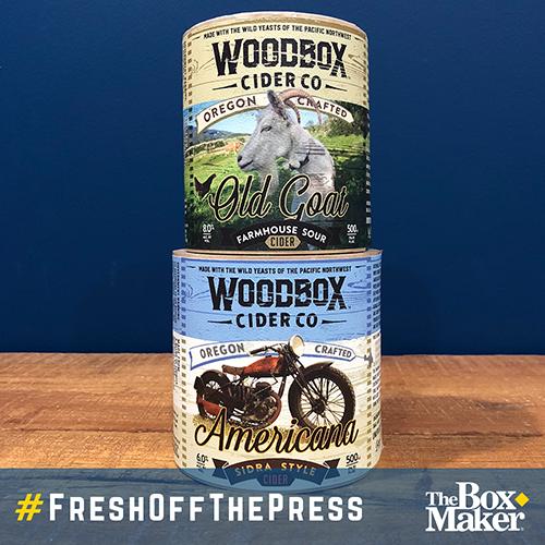 Woodbox Cider Label