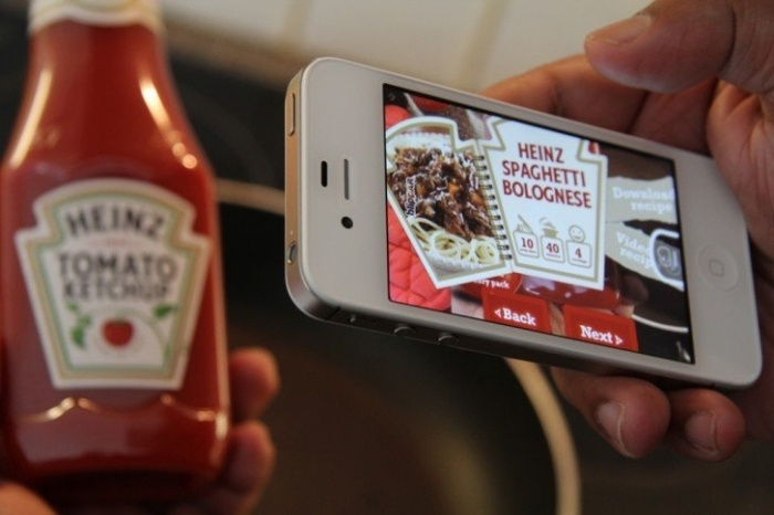 Heinz Ketchup Smart Label