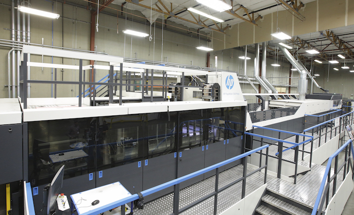 HP PageWide C500 press
