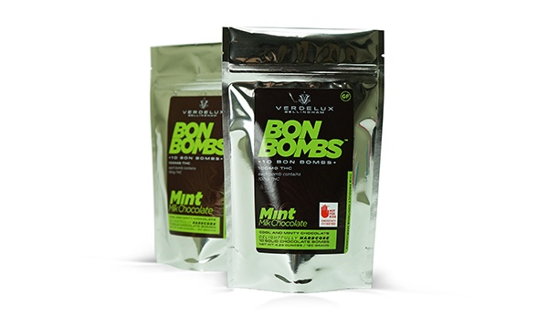 Bon Bombs Stand Up Pouch Packaging