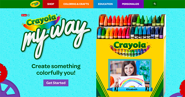 Crayola My Way Packaging