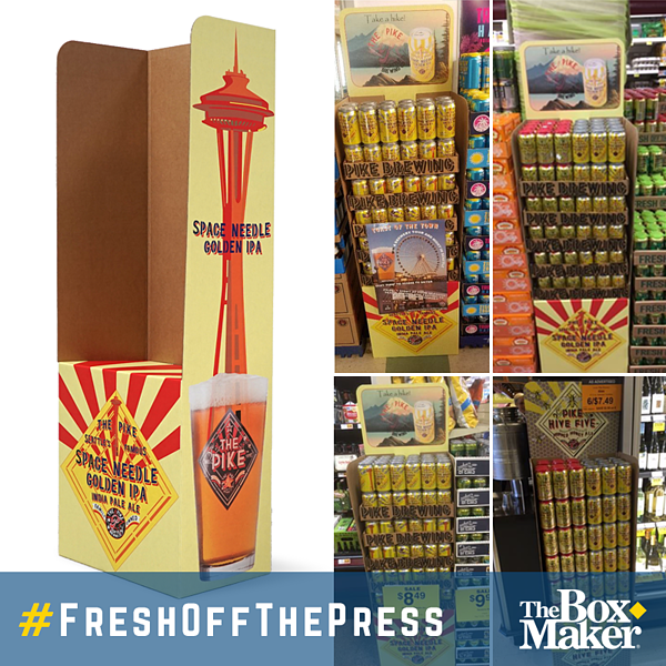 Fresh Off the Press Pike Brewing Co Display