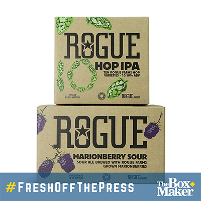 Rogue Beer Shippers Digital Print