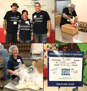 Northwest Harvest Volunteering
