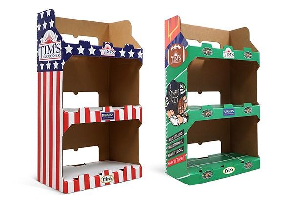 Tims Cascade Snacks Retail Display