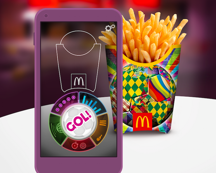 McDonalds Fry Box Smart Packaging